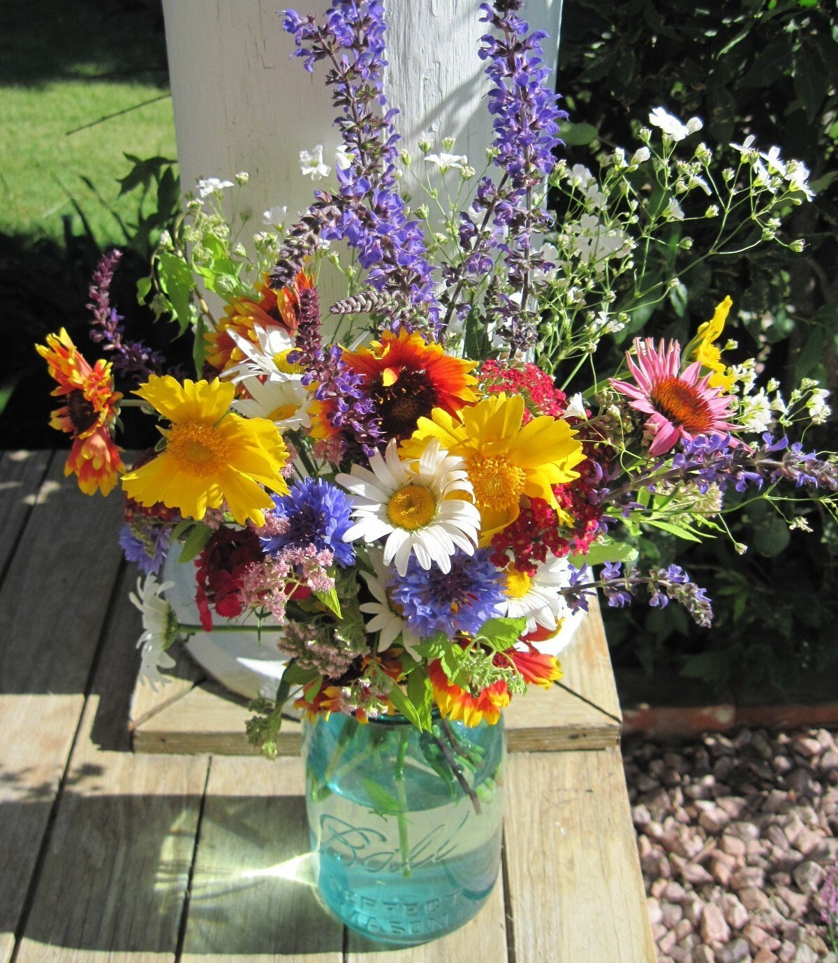 Wedding Flowers In Mason Jars: Request A Custom Order And Have Something Made Just For You