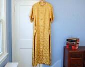 Vintage Dressing Gown Robert Rosenfeld Model's Coat Robe Designer Lingerie Large