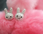 Minimalist Kawaii - Bunny Earrings
