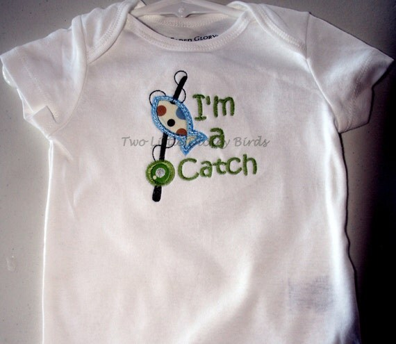 Items Similar To Baby Boy Onesie I 39 M A Catch Fishing In