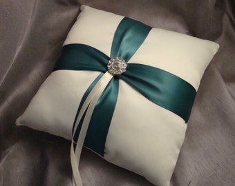 Fifth Avenue Ring Bearer Pillow - Choose Your Own Color