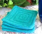 Sea Breeze Upcycled Sweater-Eco Coasters
