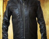 Matthew McConaughey Ghosts of Girlfriends Past , Expensive Cow Hide Leather Jacket in all Sizes