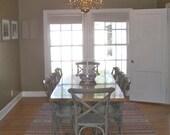 Custom Oak Dining Table