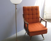 1960s Mid Century Globe Lamp, SUPER SALE