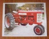 Farmall Tractor Photo - Old Farm Tractor - Red Farm Tractor - Farm Tractor Photo - 8 x 10 Photo