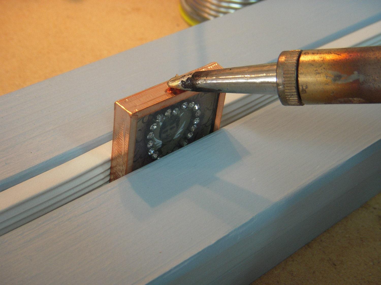 soldering iron third hand vise glass holder. Black Bedroom Furniture Sets. Home Design Ideas