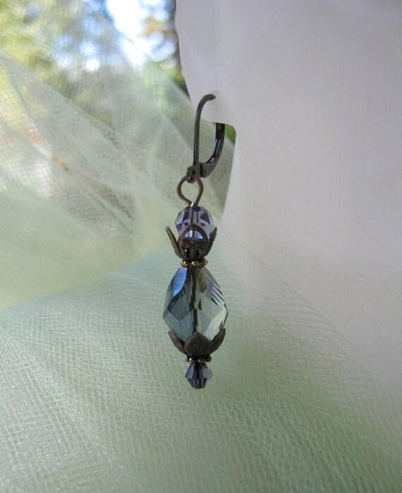Lady Sybil Earrings - Downton Abbey Jewelry - Edwardian - 1920s Earrings