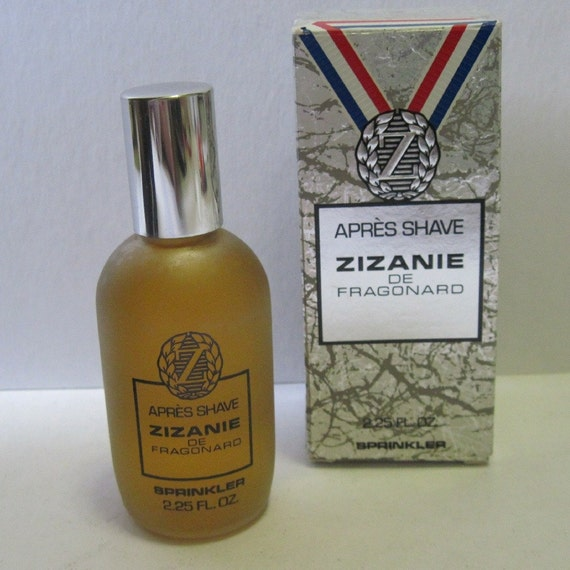 vintage 1970's Mens French After Shave ZIZANIE  in original BOX