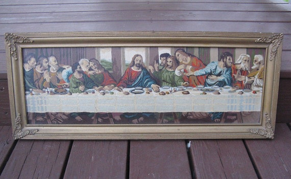 Vintage Last Supper Paint by Number