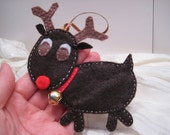 Rudolph the Red-Nosed Reindeer Ornament