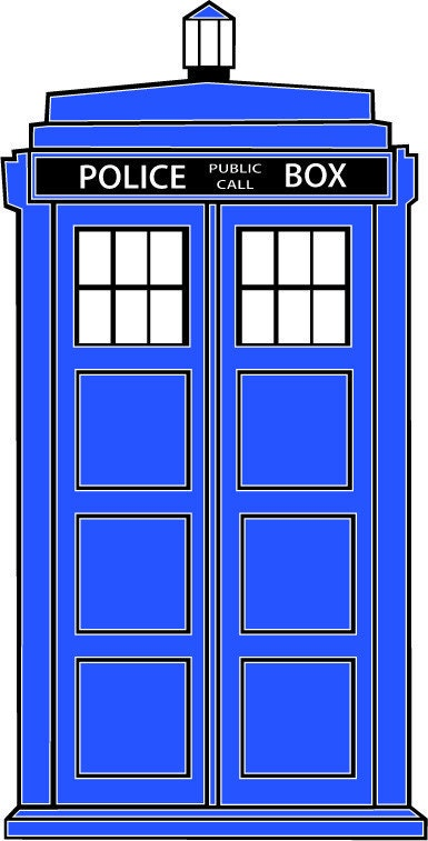 Tardis Vector In our tardis design Tardis Vector Outline