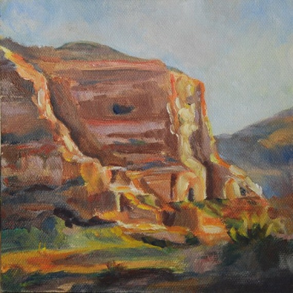 Sedona Painting, Sedona, Arizona - Western Art - Original Oil by Carol DeMumbrum