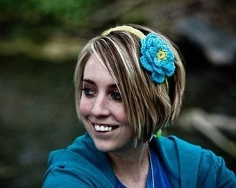 Instant Download Crochet Pattern - Juliet Headband