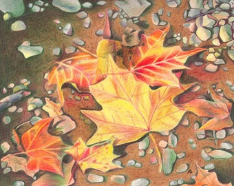 Leaves on the Path (Reproduction)