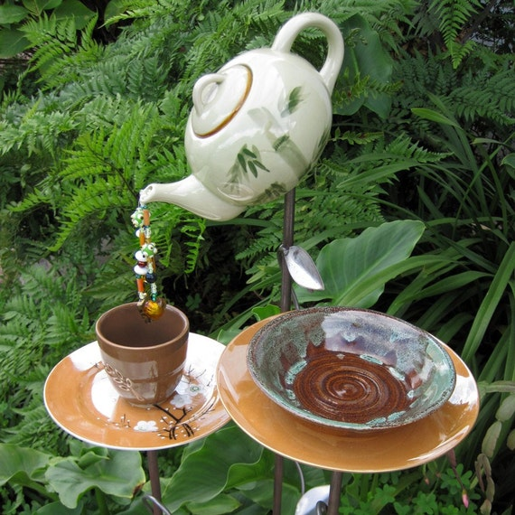 Art For The Garden: Items Similar To Whimsical Garden Sculpture