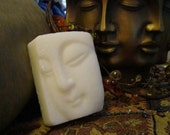 Goat's Milk Glycerin Ivory The Face of Buddha Handmade Soap