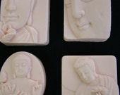 The Zen Buddha Collection Set of 4 Handmade Glycerin Soap Assortments