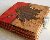 Autumn Leaves Origami Book and Gift Box