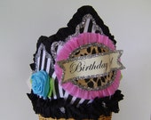 Birthday  Crown  Hat  - BIRTHDAY GIRL or anything you want, Adult or Child