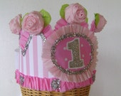 1st Birthday Crown, Hat -  or any number
