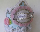bride to be crown- bachelorette crown- hen party crown-BRIDE TO BE or customize