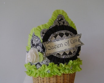 Birthday Party Crown/Hat- QUEEN OF CANDLES or customize any way