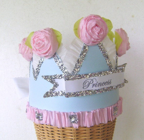 Birthday  Crown  Hat  Adult or Child- PRINCESS or customize with any saying