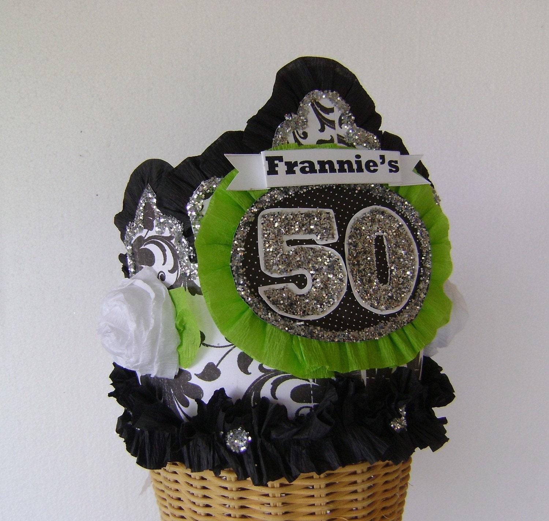50th Birthday Party Crown 50th Birthday Hat Adult Birthday