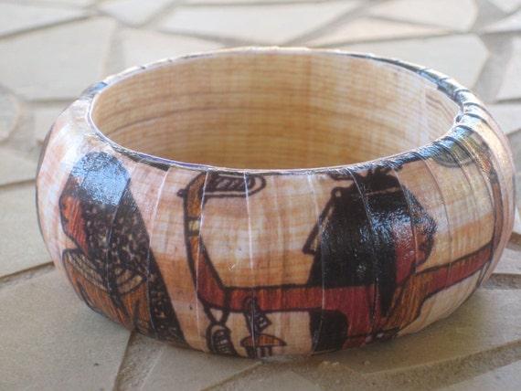 Ancient Egyptian Bangle Bracelet
