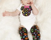 Mouse, Rainbow Dots Outfit