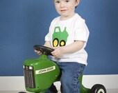 Little Green Tractor T-shirt