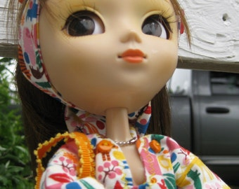 37. animal world tunic for blythe and Pullip dolls
