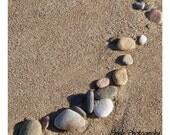 Sand Pebbles Print 5x5