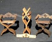 Tudor Savonarola Folding Chair
