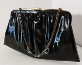 Black Patent  Andre Purse