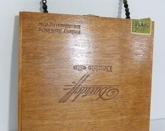 Lacquer Cigar Box Purse