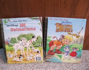 2 Disney Little Golden Books