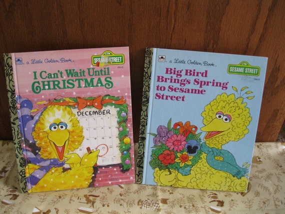 2 Sesame Street Little Golden Books