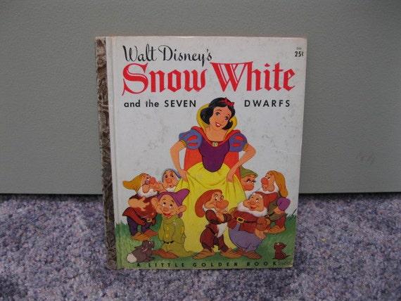 Disney's Snow White Little Golden Book