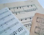 Vintage Hymnal Sheet Music 64 pages Ephemera