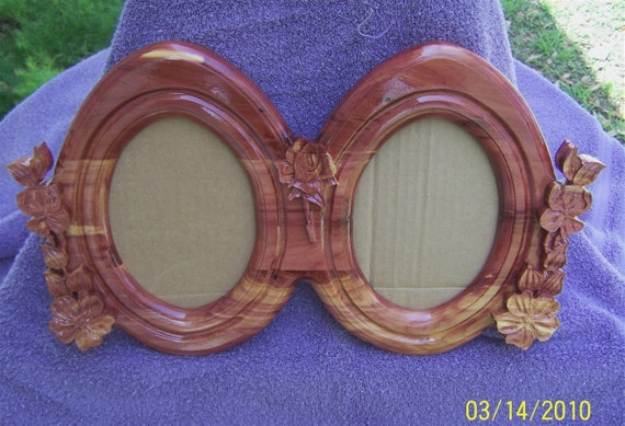 Old Tyme Double Oval 5x7 Frame   F-0014
