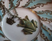 Frog Necklace - The Frog Prince Valentine Gift