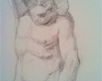 Study after MichelAngelo- Free Shipping