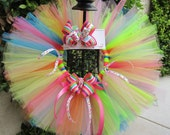 Candyland tutu Set- perfect for birthday parties, newborn pictures