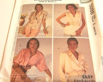 McCalls Vintage Blouse Pattern