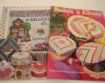 Two Vintage Pattern Books