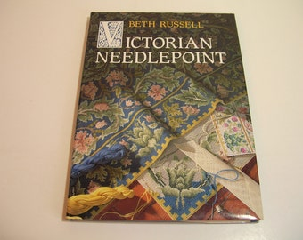 Victorian Needlepoint Vintage Book