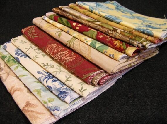 Designer Fabric Swatches Destash Assortment