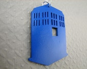 Tardis Necklace Doctor Who Necklace